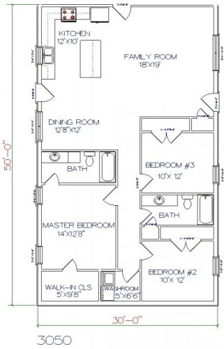 All about barndominium floor plans benefit cost price for 1800 50 floor