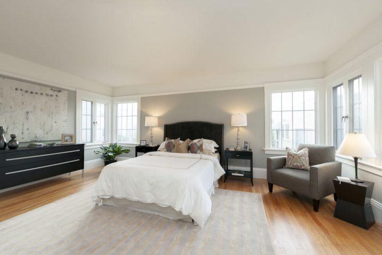 The master's bedroom floor ideas