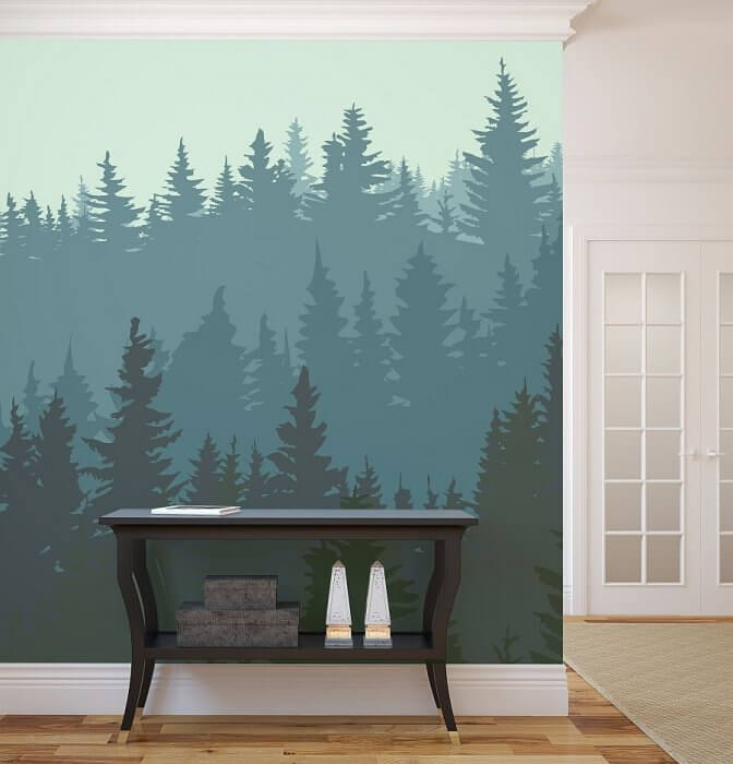 A mural scene on your wall