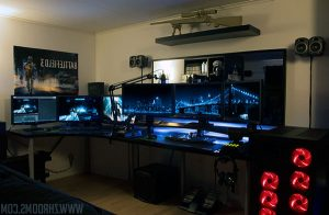 Ambient lightning gaming room ideas