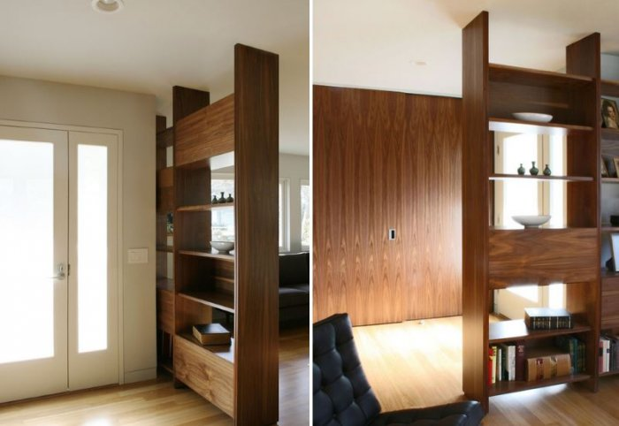 Small entryway ideas; Oversized Shelf
