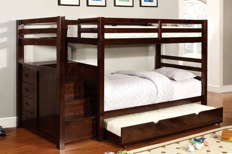 Types of beds; Bunk with trundle