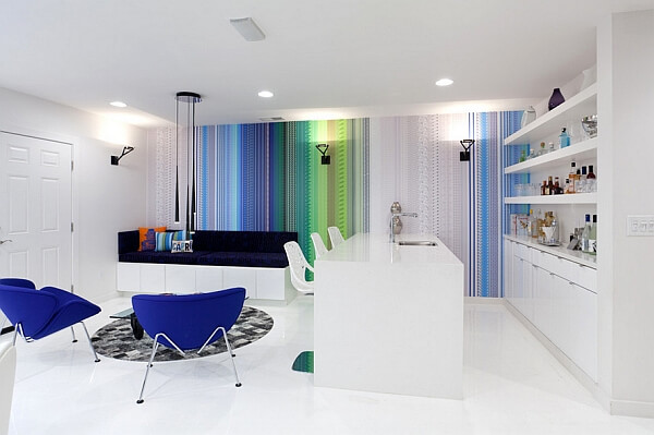 Colorful and ultra modern inspiration for the small futuristic home