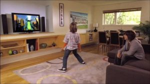Minimalist approach video game room ideas