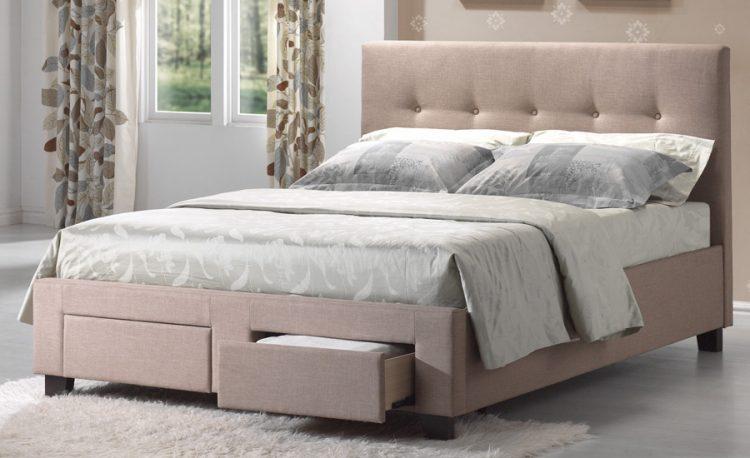Types of bed frames; Upholstered