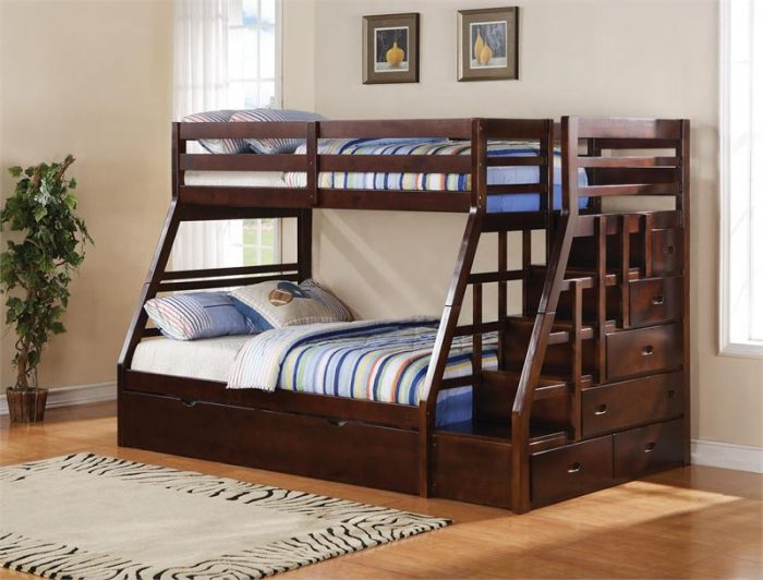 Types of beds; Twin over full bunk