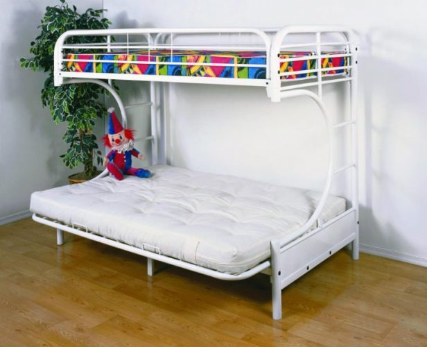Types of beds; Futon bunk