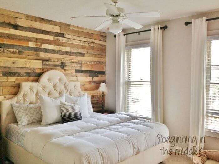 Opt for wood pallets