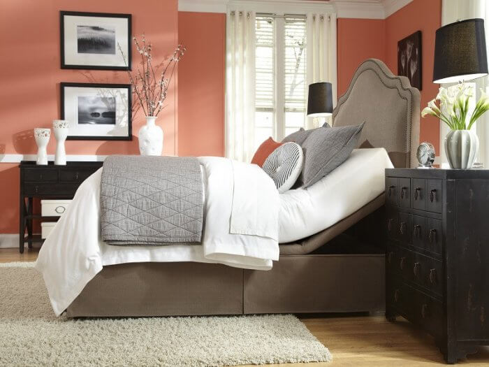 Types of beds: Adjustable bed