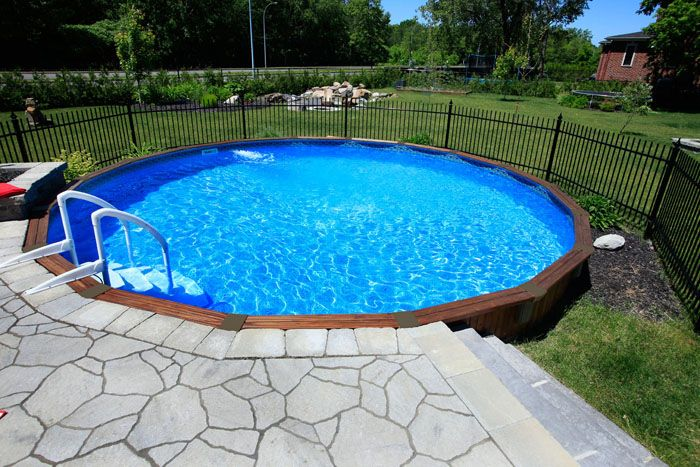 22 amazing and unique above ground pool ideas with decks for Club piscine above ground pools prices