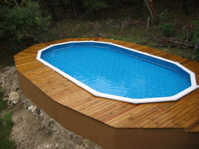 Rectangle Above Ground Pool Decks 22+ amazing and unique above ground pool ideas with decks