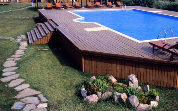 amazing above ground pool ideas with decks 6 - Above Ground Pool Deck