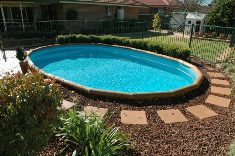 22 amazing and unique above ground pool ideas with decks for Above ground pond ideas