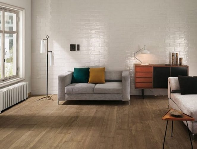 Another natural look living room flooring ideas