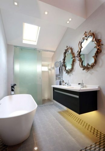 Artistic bathroom mirrors ideas