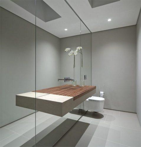 Mirrors ideas for small bathroom