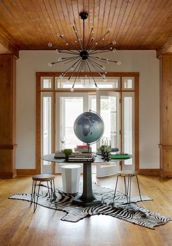 Black pedestal entry table ideas