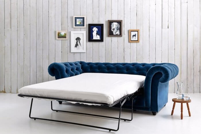 Types of beds: Chesterfield sofa bed