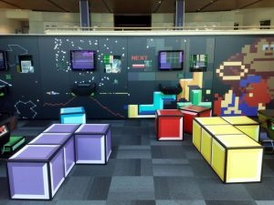 Classic video game room decoration ideas