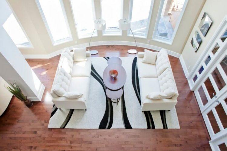 Classy living room flooring ideas