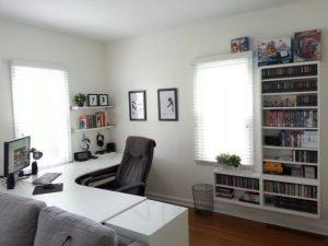Corner games room ideas