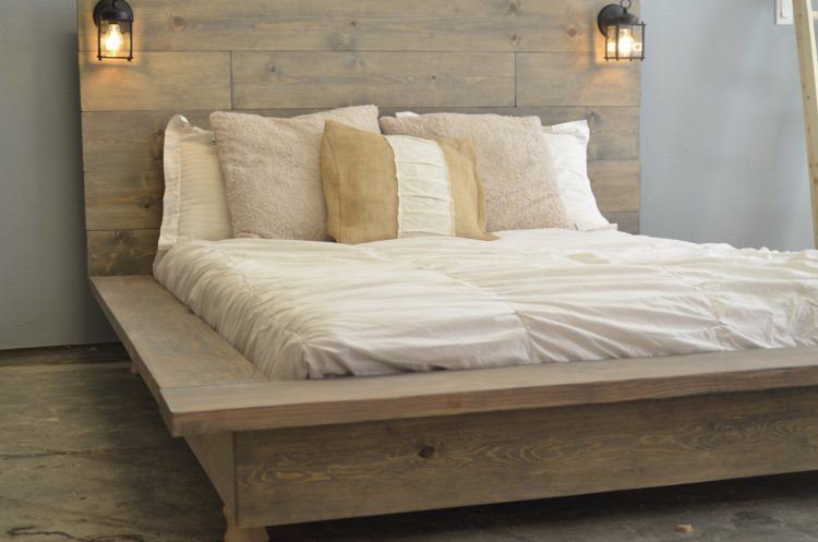 Types of bed frames; Distressed