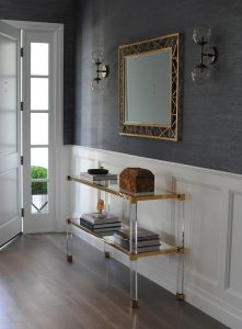 Elegant console table for entry table ideas