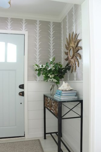 Iron console entry table ideas