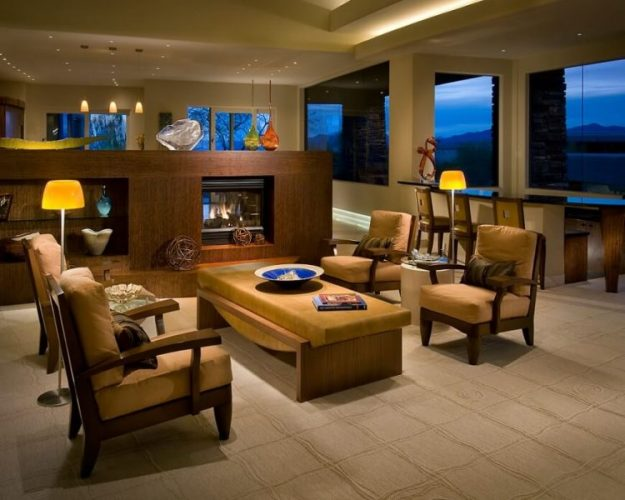 Fashionable and elegant carpet for living room flooring ideas