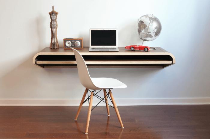 Types of desks; Floating workdesk