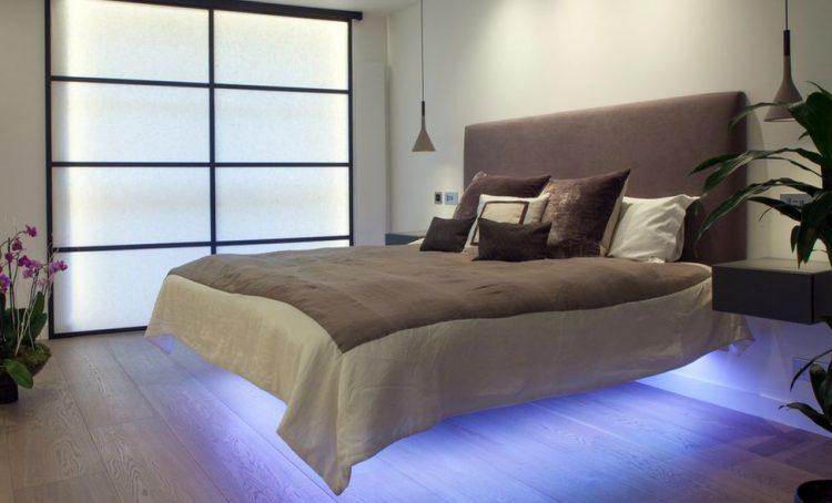 Types of bed frames; Light