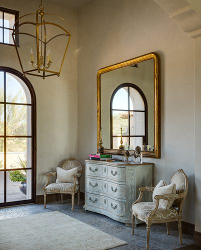 French style entry table ideas