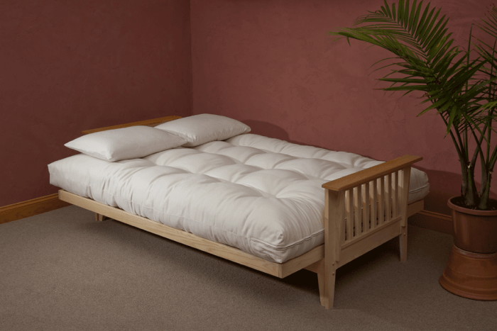 Types of beds: Futon bed