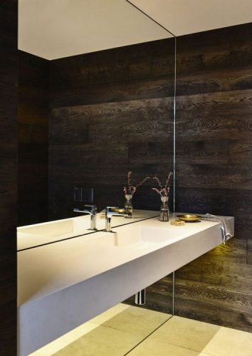 Giant bathroom mirrors ideas