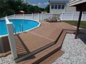 Gorgeous above ground pool ideas with decks