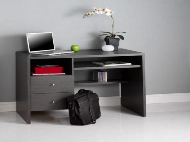Grey desk