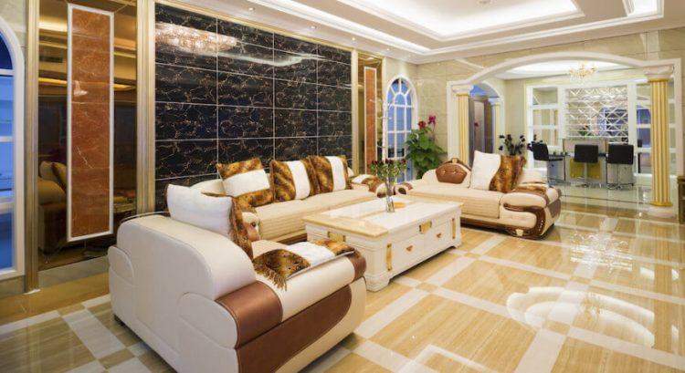 High end living room flooring ideas