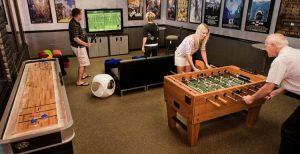 Home pub gaming room ideas