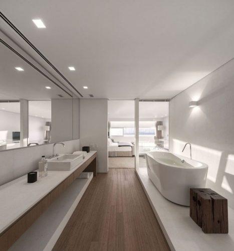 Large and length bathroom mirrors ideas