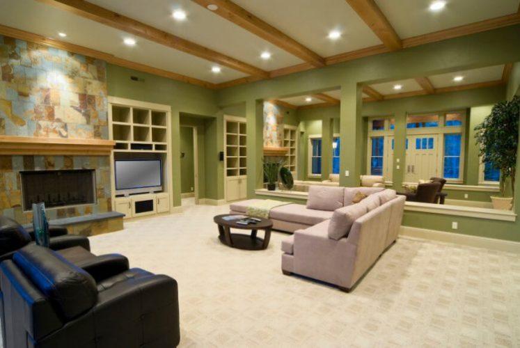 Light and breezy living room flooring ideas
