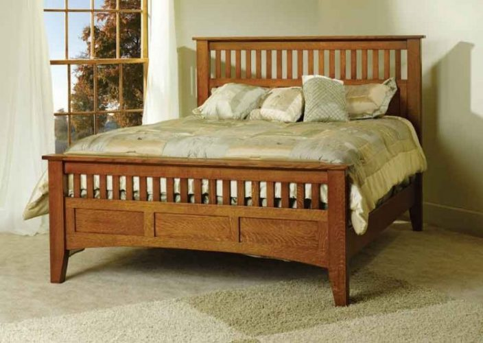 Types of bed styles; Mission beds
