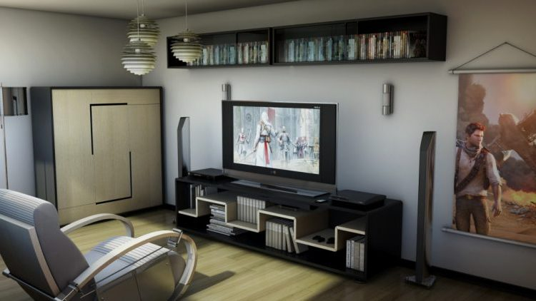 Home video game room ideas images for Living room ideas quiz
