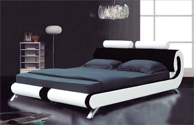 Types of bed styles; Modern