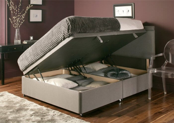 Types of beds: Ottoman bed