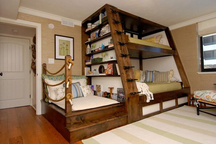Types of beds: Bunk bed