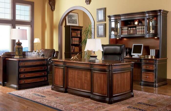 Types of desks; Exec workdesk