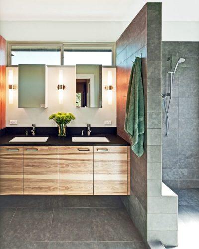 Two rectangular bathroom mirrors ideas 5