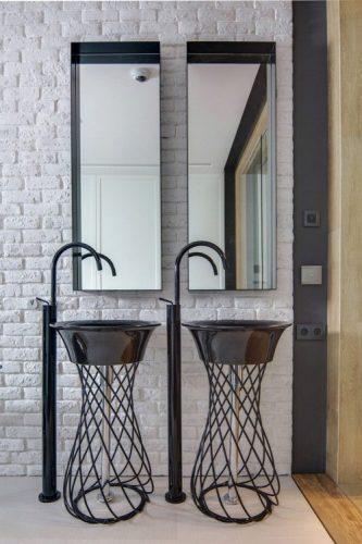 Two rectangular bathroom mirrors ideas 4