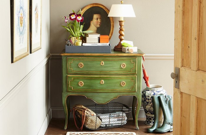 Literary small entryway ideas