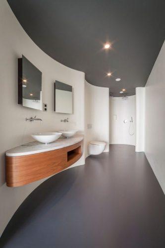 Two square bathroom mirrors ideas 1